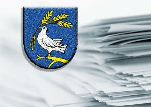 Logo obce a dokumenty
